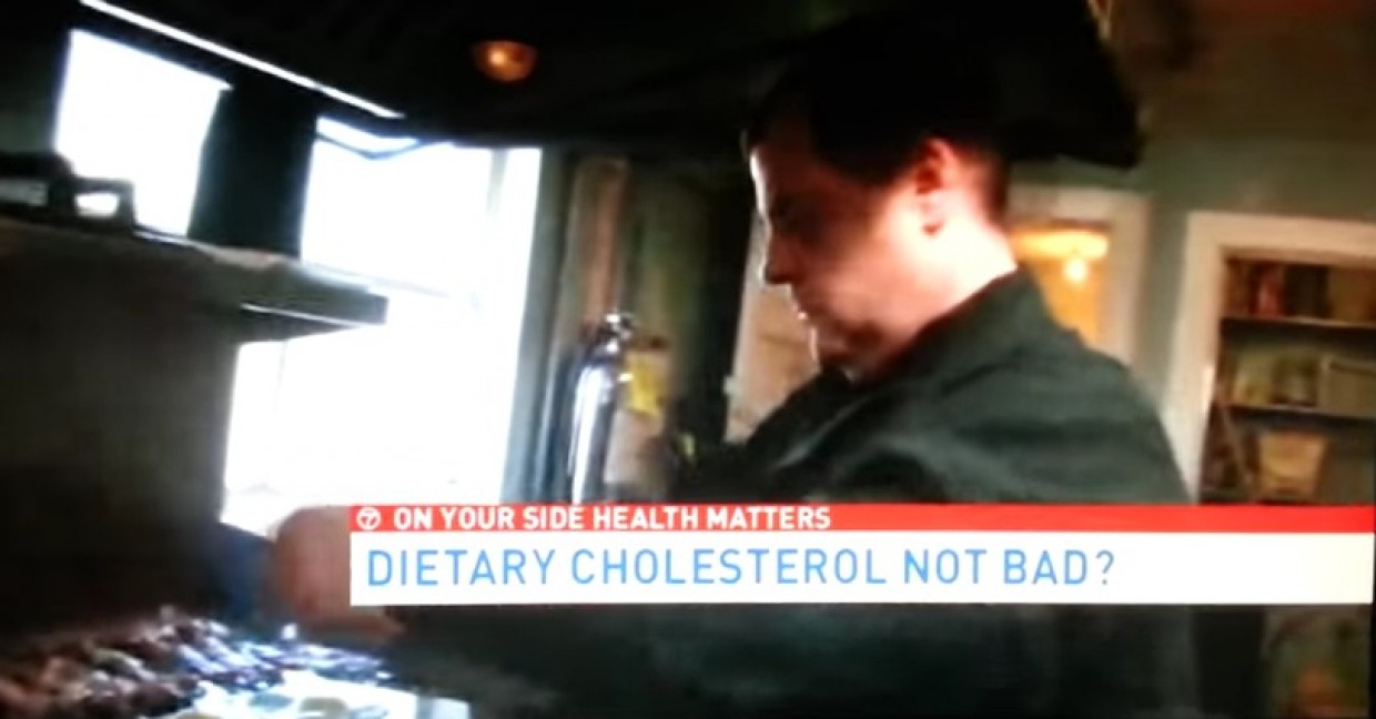 29 Diner included in an ABC Channel 7 News story on cholesterol